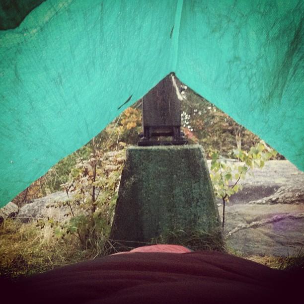October 04, 2012 at 10:18AM Här vaknade jag upp i morse., #alskarattsovaute by skogsmullen (1)