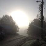 October 10, 2012 at 05:06PM Också från imorse, vacker morgon att vakna ute. #alskarattsovaute by skogsmullen